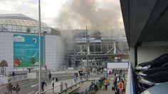 Terroranschläge in der belgischen Hauptstadt: Tote an Brüsseler Flughafen und Metrostationen