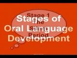 Stages of oral language development