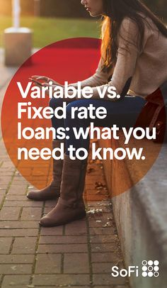 So you& decided to refinance your student loans. Do you go fixed rate or variable rate? Both are great options for paying down your debt (and saving money), but which is best for you? See how to choose. Financial Information, Financial Tips, Financial Literacy, Student Loan Help, Student Loans, Blockchain, Banks, Money Saving Tips, Saving Ideas