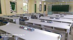 Dự án cải tạo phòng học chức năng hóa sinh, vật lý trường THCS Hòa Lâm - Ứng Hòa - Công ty sản xuất thiết bị giáo dục Sông Việt
