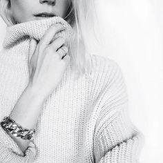 Chunky knits/sweater weather @blairbadge #MyAritzia | Aritzia