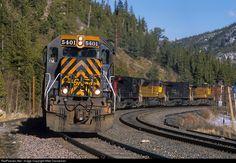 RailPictures.Net Photo: DRGW 5401 Denver & Rio Grande Western Railroad EMD SD40T-2 at East Portal, Colorado by Mike Danneman