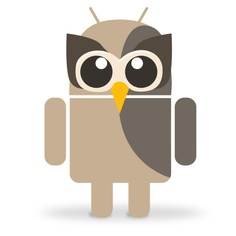 Android Owly: Because Robots need love too!
