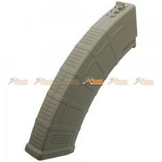 180rd AKM Mid-Cap Magazine for AK Series Airsoft AEG (DE, 5pcs Set) - AirsoftGoGo