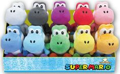 Set of Yoshi Plushes