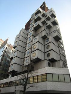 Nakagin Capsule Building,Tokyo | (10 Beautiful Photos)