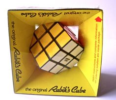 Amazon.com: The Original Rubik's Cube (3x3x3) (1980) [Vintage]: Toys & Games