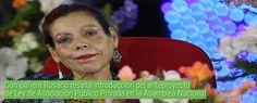Compañera Rosario resalta introducción del anteproyecto de Ley de Asociación Público Privada en la Asamblea ... - VIva Nicaragua Canal 13