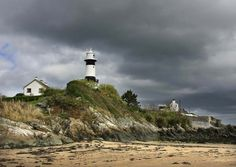 Stroove Lighthouse Inishowen Donegal Ireland