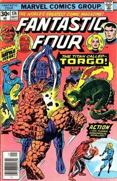 Fantastic Four #174 - Starquest!