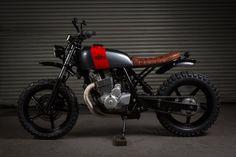 ϟ Hell Kustom ϟ: Honda CBF250 2004 By Kevil's Speed Shop