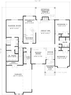 Morristown Craftsman Home Plan 055D-0260 | House Plans and More
