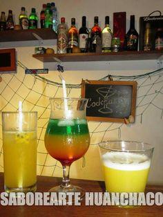 Cocktails in SABOReARTE Restobar