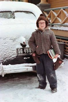 Ralphie.  I never ever get tired of watching this movie! :-)