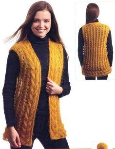 örgü 283 – Knitting patterns, knitting designs, knitting for beginners. Baby Cardigan Knitting Pattern Free, Fair Isle Knitting Patterns, Knitting Blogs, Knitting For Beginners, Knitting Designs, Knit Shirt, Cardigans For Women, Women's Fashion Dresses, Crochet Lace