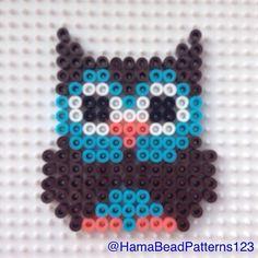 Hama bead owl by hamabeadpatterns123