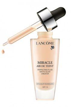 Miracle Air de Teint, a fórmula aerogel da Lancôme (R$ 279, à venda na Sephora)
