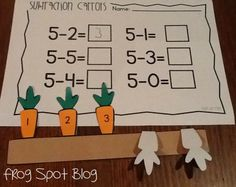 FREE Carrot Patch Subtraction