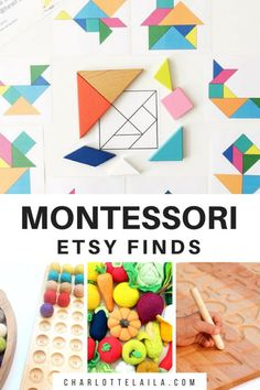 Our Favourite Montessori Finds on Etsy. Identifying and classifying objects is a great activity for toddlers. Not only are they using motor functions to physically move the objects but they also need to develop the ability to sort them based on similarities and differences which is beneficial to their cognitive development.