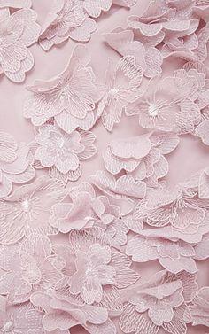 Floral-Appliquéd Taffetta Gown | Nina Ricci | Embellishment