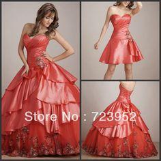 #Sweet15Party Vestido desmontable para la Quinceañera