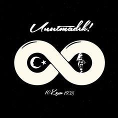 Vektörel Çizim | 10 Kasım 1938, Atatürk, Unutmadık