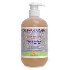 California Baby® Super Sensitive™ 19-Ounce Shampoo & Bodywash - buybuyBaby.com