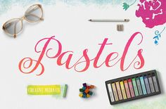 Chalk Pastels Toolkit by Creative Media Co on Creative Market