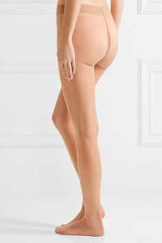 Wolford - Nude 8 Denier Tights - Sand - small