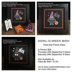 Howl-o-ween Treat Stamp set #Halloween