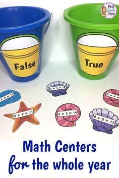 Need a simple way to set up math centers in your first grade classroom? Check out this bundle of hands on math centers for independent work. Organizing and managing your guided math rotations schedule… Ks1 Classroom, Year 1 Classroom, Year 1 Maths, Early Years Maths, Classroom Games, First Grade Classroom, 1st Grade Math, Math Games Grade 1, First Grade Games