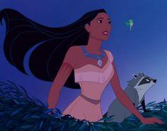 Princess Pocahontas, Disney Pocahontas, Disney Princess, Disney And Dreamworks, Disney Pixar, Walt Disney, Disney Movies, Disney Characters, Princesa Disney