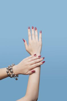Lessons from the Pros: Holly Falcone's Plaid Nails
