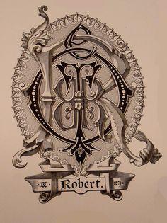Monograma de Robert