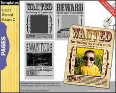 Wanted Poster Templates