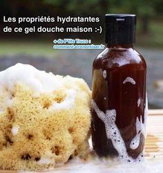 Liste ingrédients hydratants de ce gel douche maison