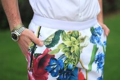 beautiful flower trousers.