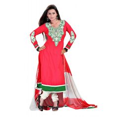 Beautiful Collection Colored Cotton Embroidered Dress Material  Shop Now >> ealpha.com/suits-and-chudidar/270?utm_source=Ealpha&utm_medium=Promotion&utm_campaign=Suits