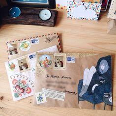 mailart letters snailmail outgoing