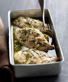 Como cocinar pechugas de pollo al horno                                                                                                                                                                                 Más