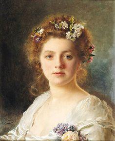 Gustave Jean Jacquet - Flora