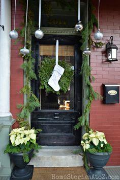 50 Stunning Christmas PorchIdeas - Christmas Decorating -