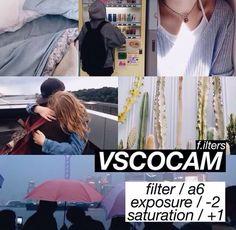 Vscocam filter.