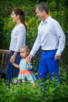 Annual Summer Photocall For The Danish Royal Family At Grasten Castle on July 25, 2015 in Grasten, Denmark