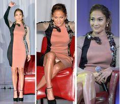 Jennifer Lopez Rocks Snake Embellished Dress
