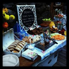 Breakfast Buffet, gorgeous for a continental Brunch Wedding, Wedding Breakfast, Wedding Desserts, Breakfast Scones, Breakfast Buffet, Breakfast Ideas, Breakfast Catering, Continental Breakfast, Food Trays