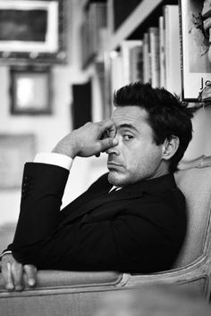 """Robert Downey Jr.  """"Really? You're still here? I thought I told you to get lost.  So, go on... get lost.""""  :)"""