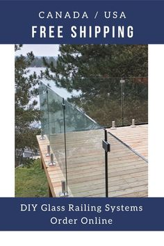 Deck Railing Systems, Glass Railing System, Deck Railings, Patio Deck Designs, Patio Design, Covered Deck Designs, Railing Design, Fence Design, Outdoor Landscaping