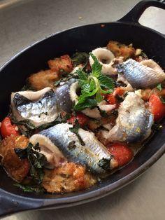 "Sardines in ""tortiera"" a la napolitaine!!!"