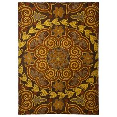 Threshold™ Floral Mosaic Hand Tufted Indoor/Outdoor Area Rug